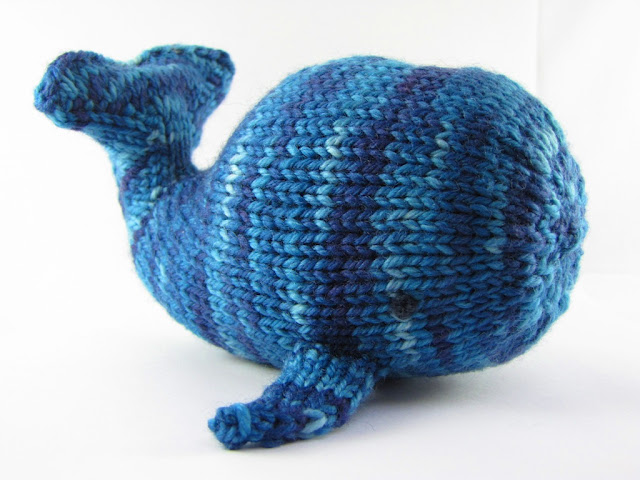 knitted whale pattern