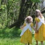 Emily dresses for Easter