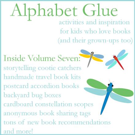 Alphabet Glue giveaway!