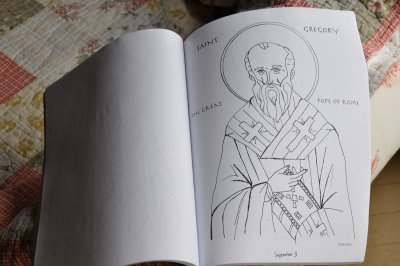 Homemade Coloring Book