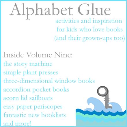 Alphabet Glue giveaway! (volume nine is here!)