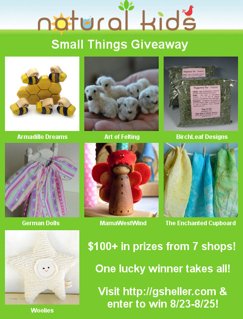 Natural Kids Team {giveaway!}