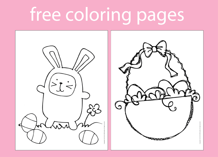 Spring theme coloring pages for Spring themed coloring pages