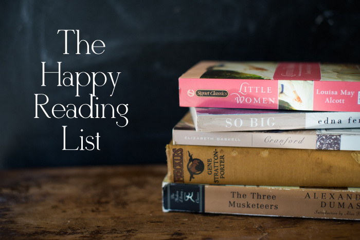 A curated list of light classics and more. A happy reading list!