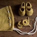 Favorite things:  baby knits, goats, and more yarn