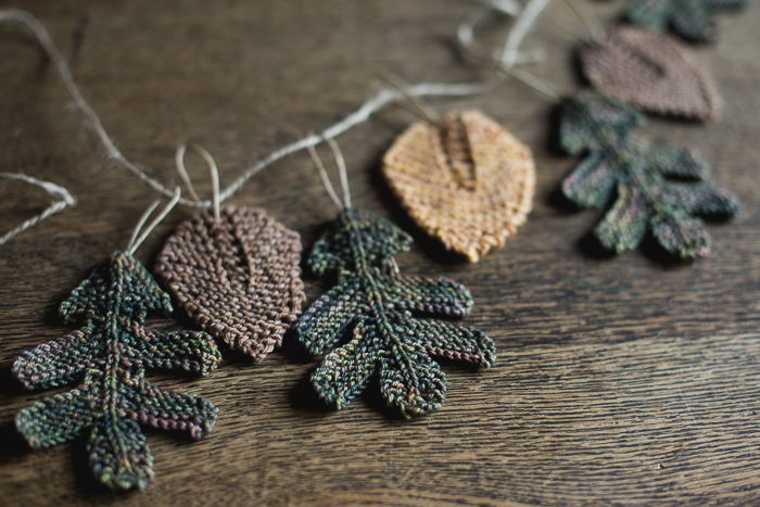 Knitting Pattern Oak Leaf : Knitting Leaves (not sweaters)