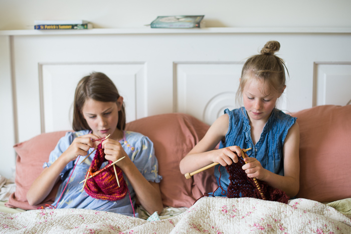 Knitting instead