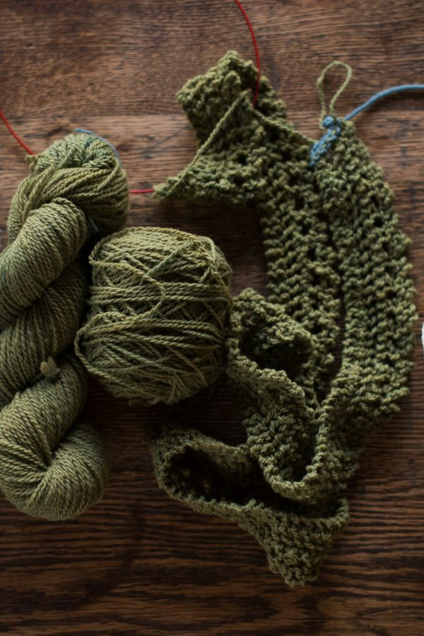 Yarn Along {January}