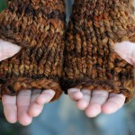 Once upon a time (fingerless mitts)