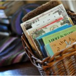 "The ""little book"" basket"