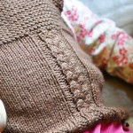A new handknit for Little Miss Gets What She Wants