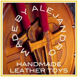 handmade leather toys