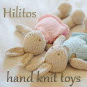 hand knit toys