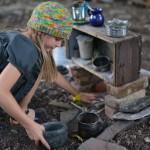 in and around the autumn mud pie kitchen