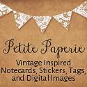 vintage inspired stationery