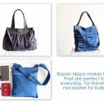 Bayan Hippo {handmade bags & purses giveaway!}