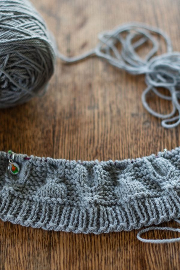 Yarn Along {October}